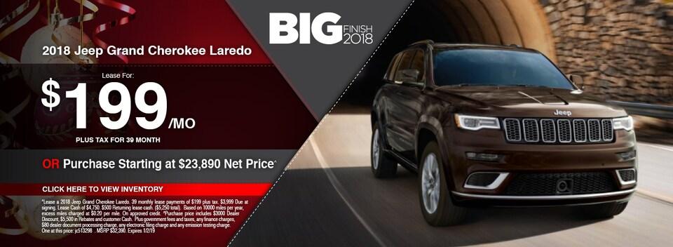 2018 Jeep Grand Cherokee Laredo Special