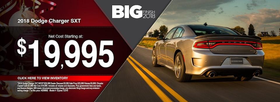 2018 Dodge Charger SXT Special
