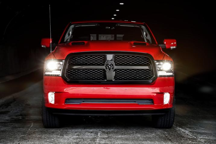 2017 Ram 1500 Night Package Red Exterior