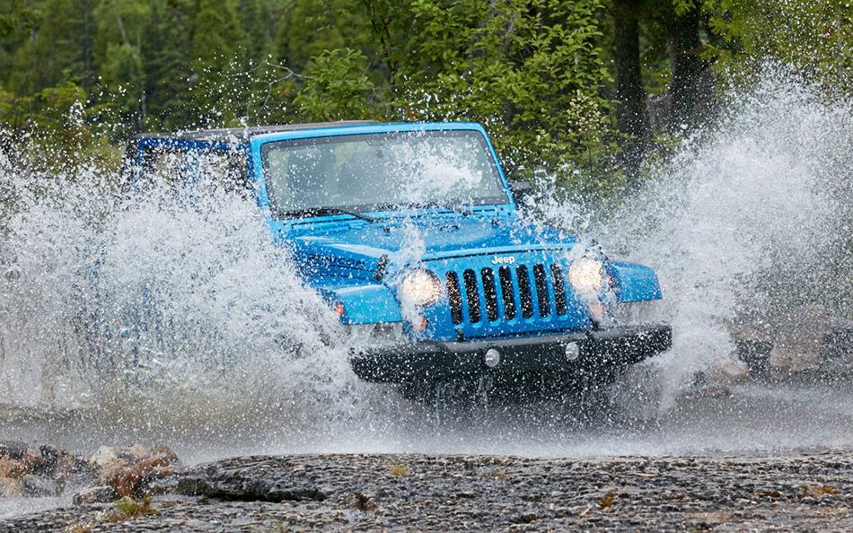 2016 Jeep Wrangler Summer Adventures