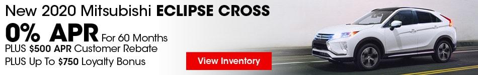 2020 Mitsubishi Eclipse Cross August