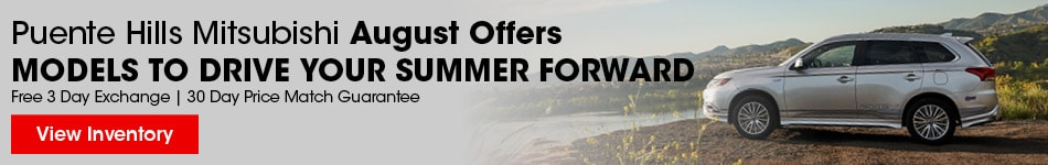 Puente Hills Mitsubishi August Offers