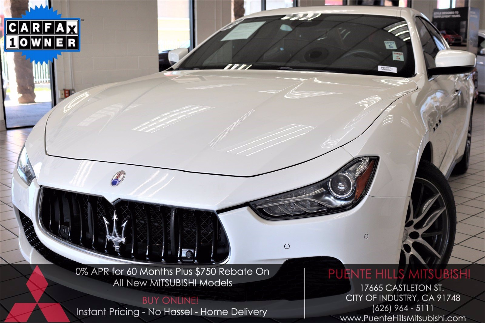 Used Maserati Ghibli City Of Industry Ca