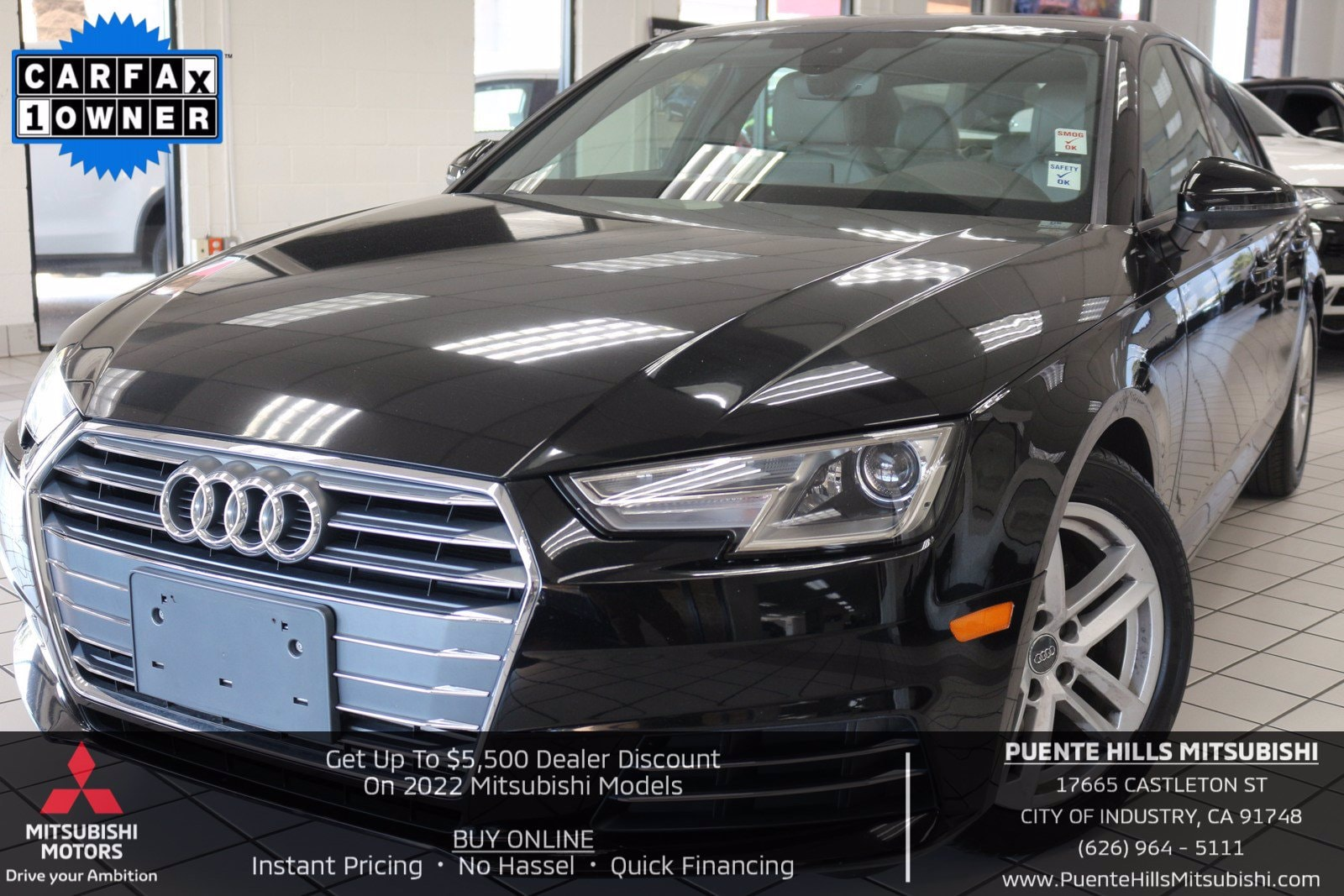Used Audi A4 City Of Industry Ca
