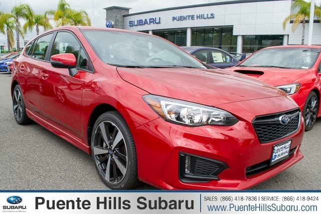 New 2019 Subaru Impreza 2.0i Sport 5-door 4S3GTAM62K3725367 for sale in Los Angeles Area | Puente Hills Subaru