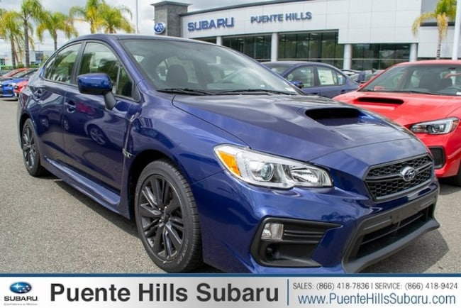 New 2019 Subaru WRX Base Sedan JF1VA1A6XK9805584 for sale near Los Angeles at Puente Hills Subaru