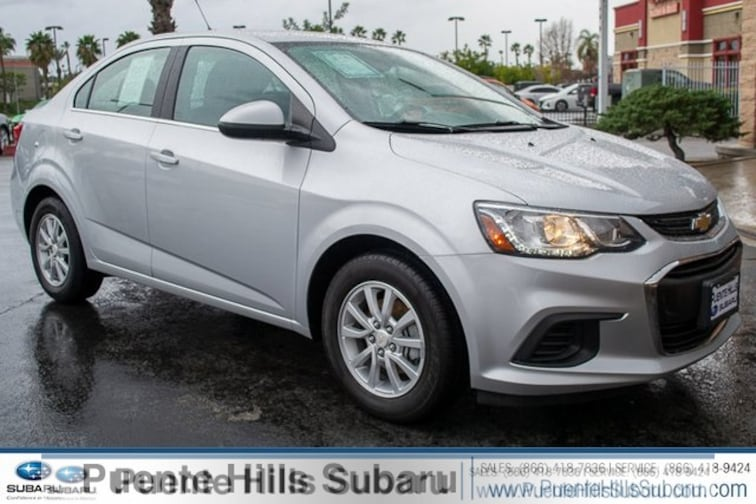 Used 2017 Chevrolet Sonic LT Sedan Los Angeles