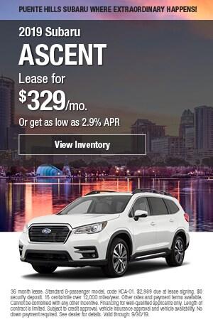 2019 Subaru Ascent - September