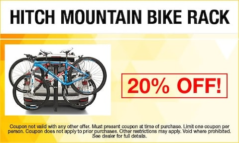 Hitch Mountain Bike Rack