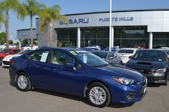 Certified 2017 Subaru Impreza Premium 2.0i Premium  CVT 4S3GKAB6XH3614208 for sale near LA at Puente Hills Subaru