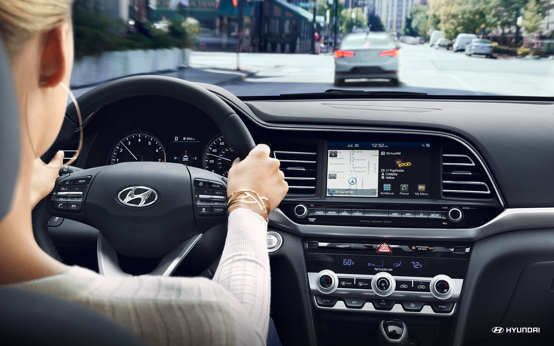 2019 Hyundai Elantra Safety Features