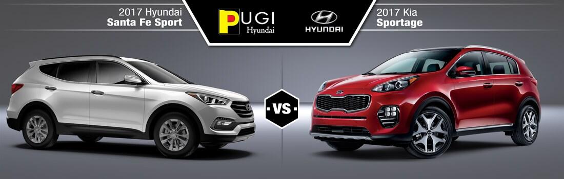 2017 Hyundai Santa Fe Sport Vs. 2017 Kia Sportage: Engine Performance U0026  Specs
