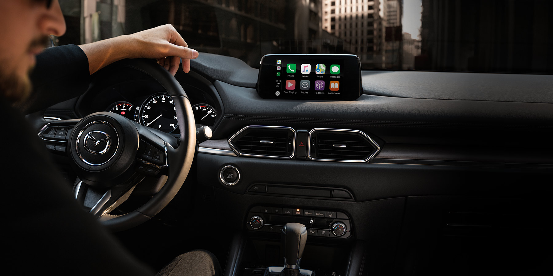 2019 Mazda CX-5 vs Ford Escape Technology Features near St. Charles, IL