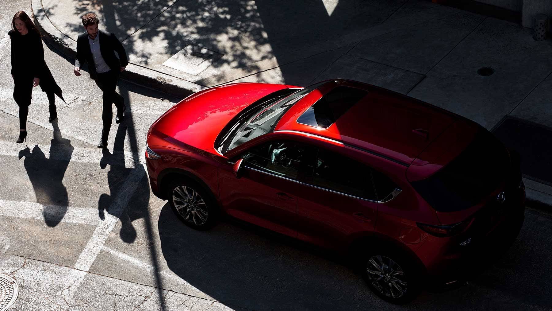 2019 Mazda CX-5 vs Ford Focus Exterior near St. Charles, IL