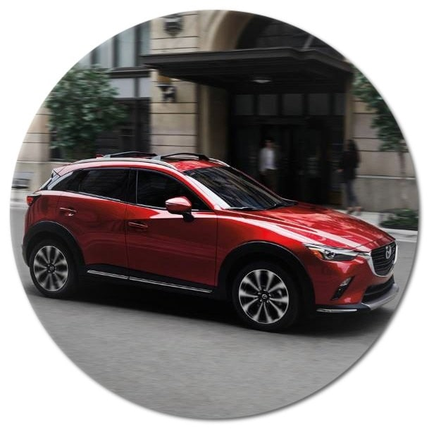 A great driving performance with the 2019 CX-3