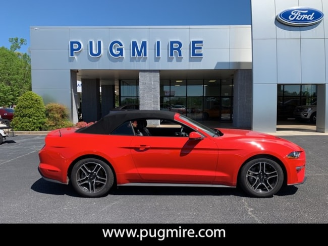 Used 2018 Ford Mustang Ecoboost Convertible in Carrollton, GA