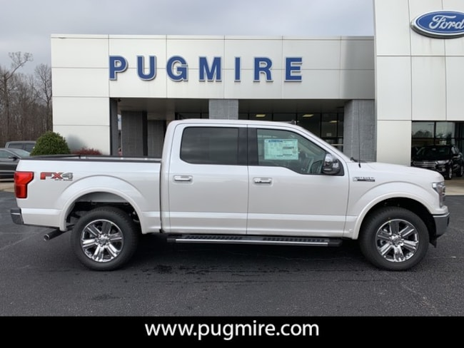 New 2019 Ford F-150 Lariat 4WD Supercrew 5.5 Box in Carrollton, GA