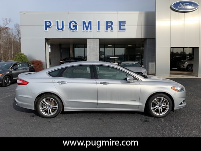 Used 2015 Ford Fusion Energi Titanium Sedan in Carrollton, GA
