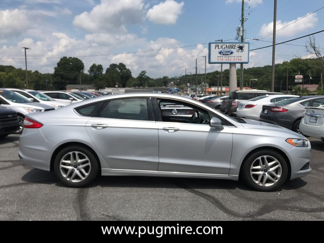 2015 Ford Fusion 4DR SDN SE Sedan