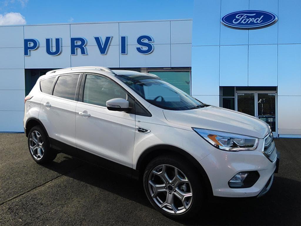 New 2019 Ford Escape Titanium SUV for sale in Fredericksburg, VA