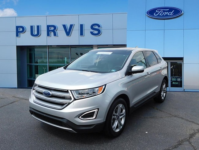 Certified Pre-Owned  2018 Ford Edge Titanium SUV For Sale in Fredericksburg VA