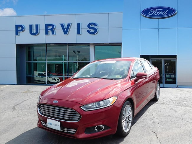Certified Pre-Owned  2014 Ford Fusion SE SEDAN For Sale in Fredericksburg VA