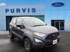 New 2019 Ford EcoSport S Crossover For Sale in Fredericksburg VA