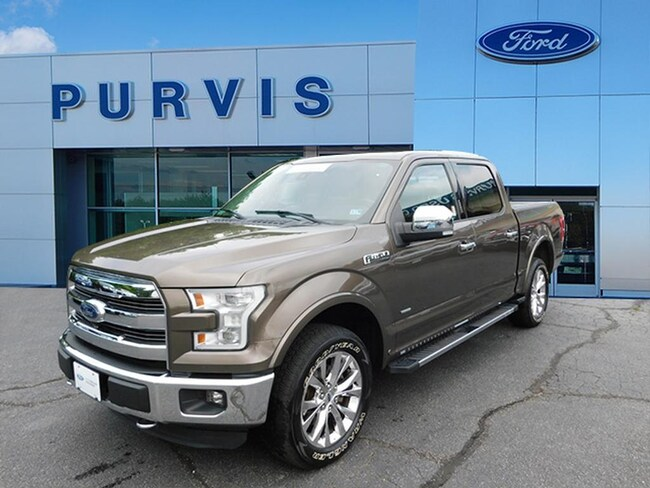 Certified Pre-Owned  2015 Ford F-150 Lariat CREW CAB SHORT BED TRUCK For Sale in Fredericksburg VA
