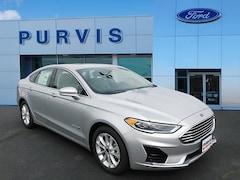New 2019 Ford Fusion Hybrid SEL Sedan For Sale in Fredericksburg VA