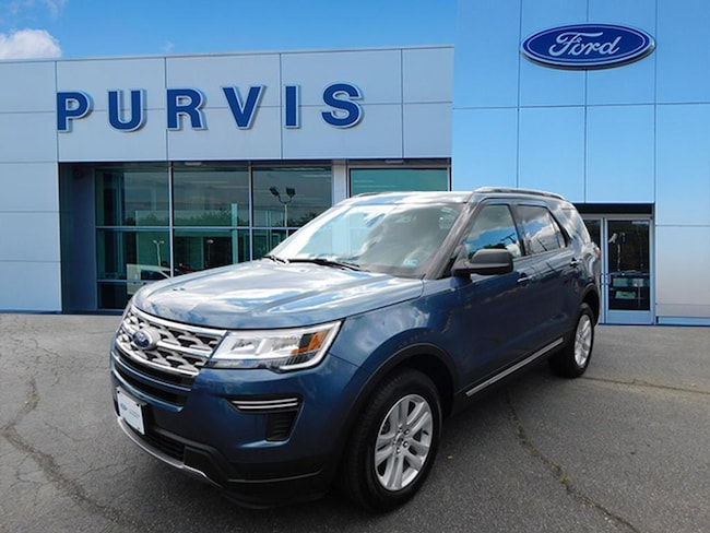 Certified Pre-Owned  2018 Ford Explorer XLT SUV For Sale in Fredericksburg VA