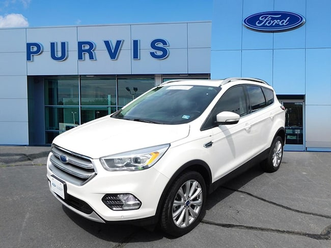 Certified Pre-Owned  2017 Ford Escape Titanium SUV For Sale in Fredericksburg VA