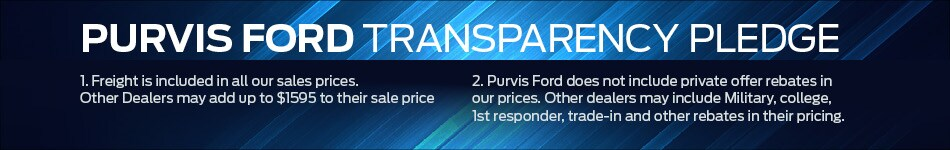 Purvis Ford Transparency Pledge