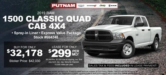 Putnam Chrysler Dodge Jeep Inc | New Chrysler, Dodge, Jeep