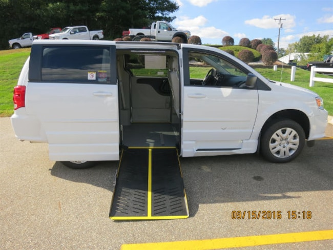 2016 Dodge Grand Caravan SE With AN Eldorado PT Conversion Side Steps Van
