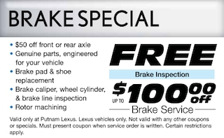 Up to $100 Off Brakes