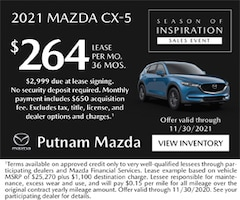 cx 5 lease 2021