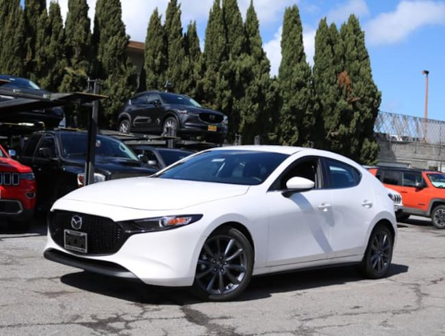 New Mazda vehicle 2019 Mazda Mazda3 Preferred Package Hatchback for sale near you in Burlingame, CA