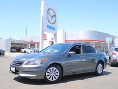 Bargain Used 2012 Honda Accord I4 Auto LX Sedan for sale near you in Burlingame, CA