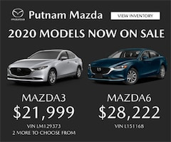 mazda3 and mazda6 2020 with pricing