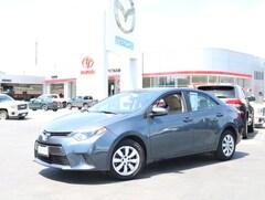 Bargain Used 2015 Toyota Corolla CVT LE (Natl) Sedan for sale near you in Burlingame, CA