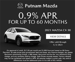 0.9% for up to 60 mo cx 30