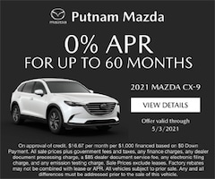0% for up to 60 mo cx 9