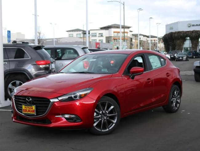 New Mazda vehicle 2018 Mazda Mazda3 Grand Touring Hatchback for sale near you in Burlingame, CA