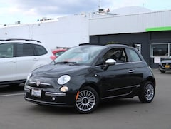 Bargain used vehicles 2012 FIAT 500c Lounge Convertible for sale near you in Burlingame, CA