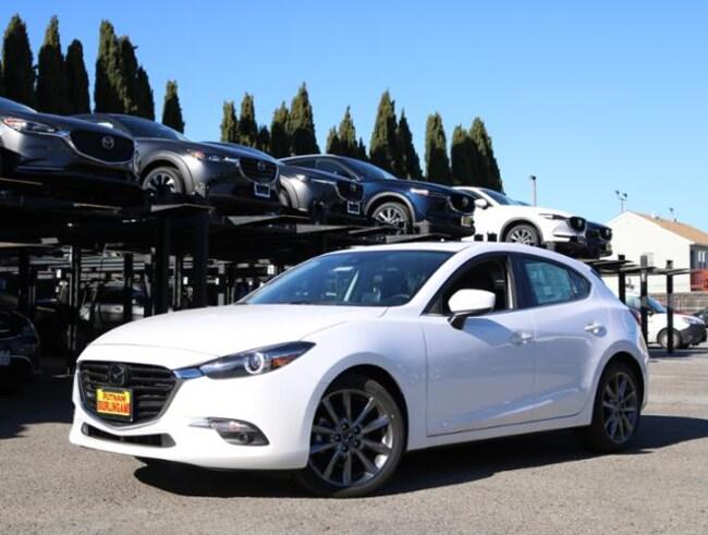 New Mazda vehicle 2018 Mazda Mazda3 Grand Touring Hatchback for sale near you in Burlingame, CA