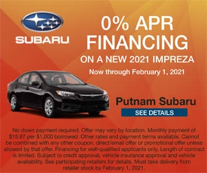 2021 Subaru Impreza Finance Offer