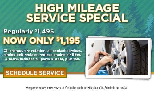 High Mileage Service Special
