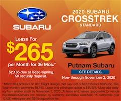2020 Subaru Crosstrek Standard