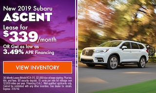 2019 Subaru Ascent - July