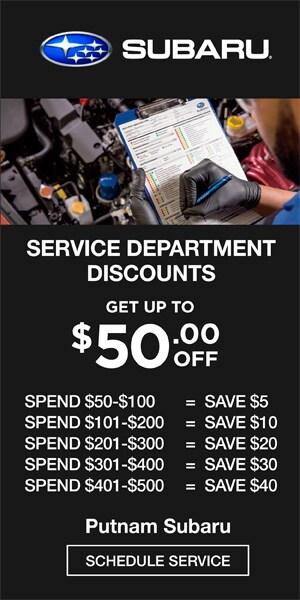 Service Department Discounts